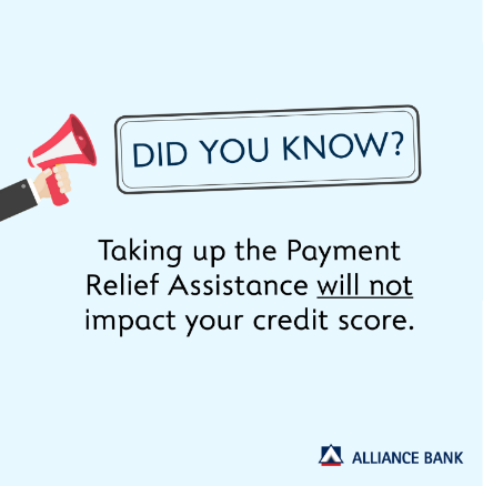 payment relief assistance credit score